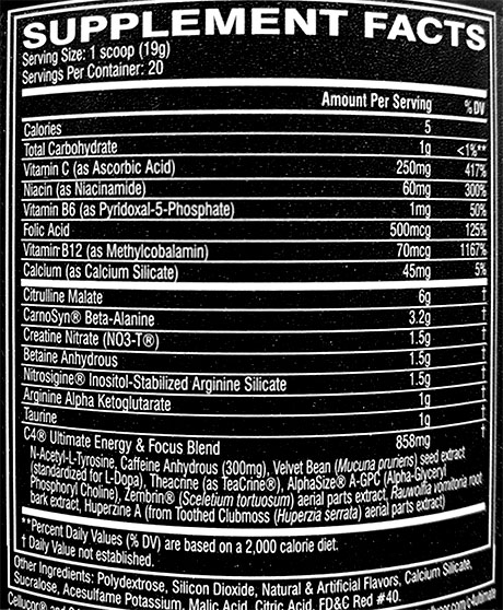 Όνομα: cellucor-c4-ultimate-ingredients.jpg Εμφανίσεις: 1311 Μέγεθος: 103,4 KB