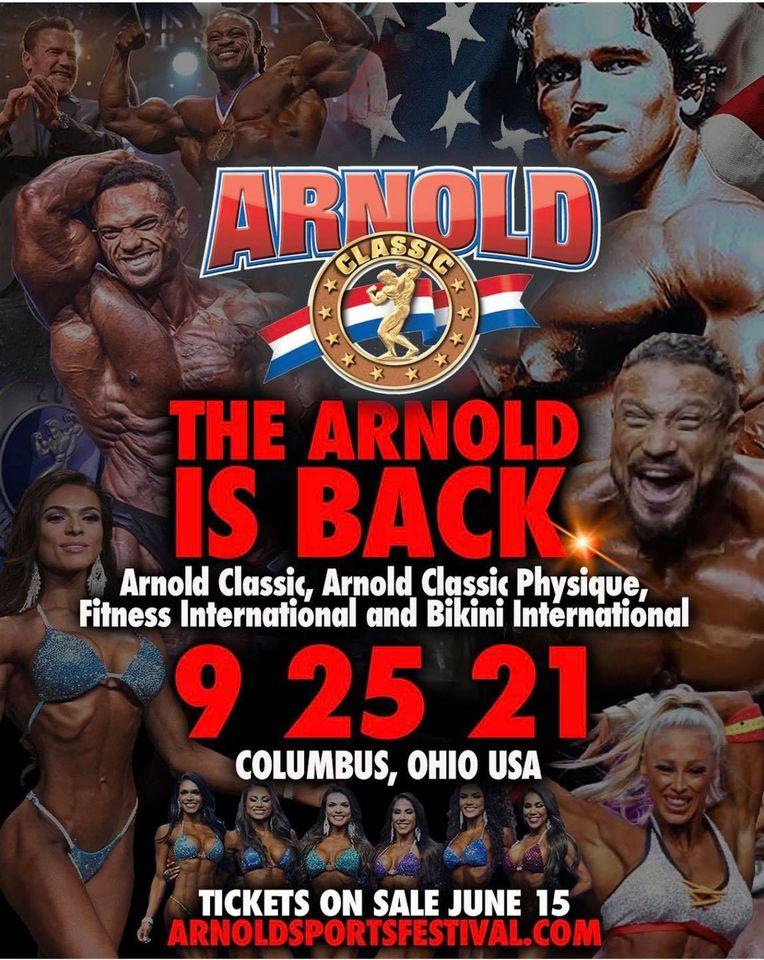 Όνομα: Arnold Classic Ohio 2021.jpg Εμφανίσεις: 161 Μέγεθος: 151,2 KB