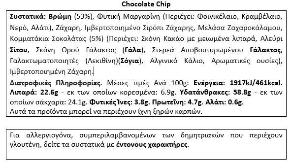 Όνομα: 01-182-055 Flapjack 120g-choco-chip-facts.jpg Εμφανίσεις: 168 Μέγεθος: 64,9 KB